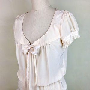 Nanette Lepore 100% silk top Size 6